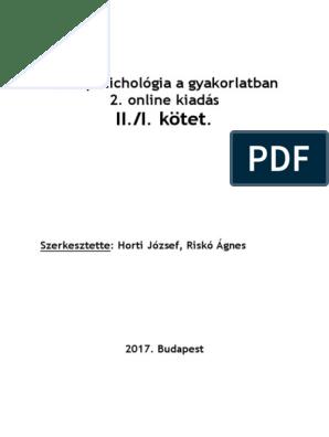 Riskó Ágnes: Onkopszichológia a gyakorlatban Online Ii /I.