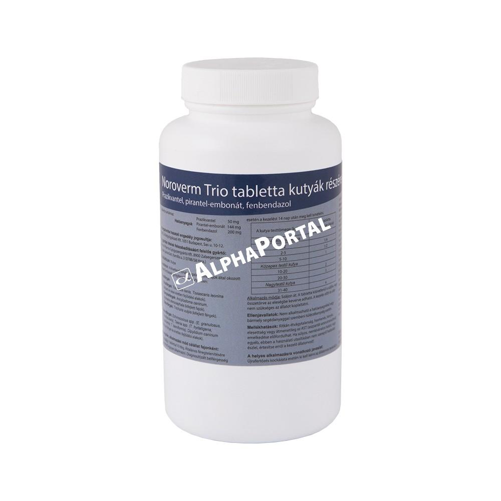 parazita tisztító tabletták