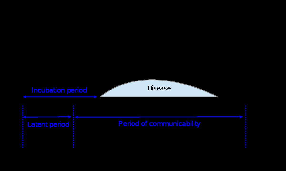 giardiasis inkubációs periódus