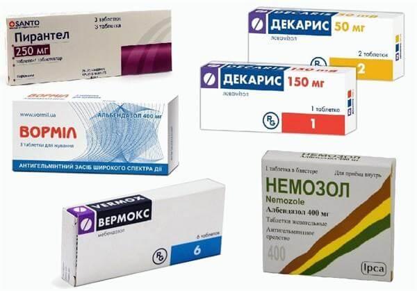 tabletták a nagy férgek számára parazita lentec széles körű kezelés