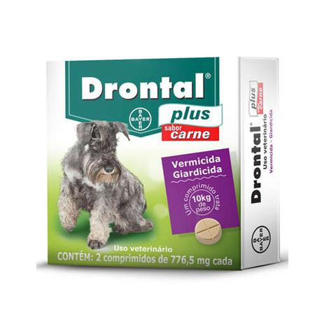 drontal plus dose for giardia