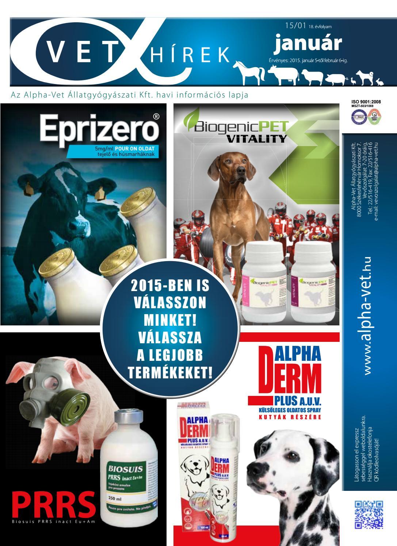 állatgyógyászat férgek számára