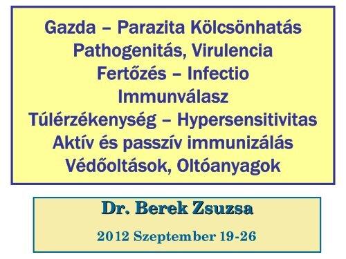 helmint parazita fertőzések